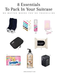 8 essentials to pack in your suitcase no matter where you're travelling - if…