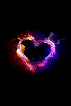 flaming heart - flaming love