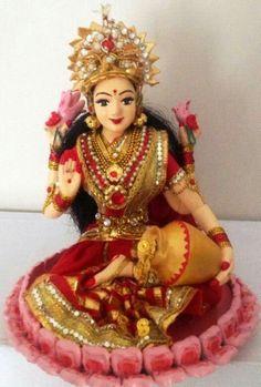 Goddess Lakshmi golu Doll......