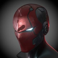 Deadshot Injustice 2 Concept Helmet printable model, available formats STL, PDF, , ready for animation and other projects Armor Concept, Concept Art, Red Hood Helmet, Eye Parts, 3d Printable Models, Cool Masks, Creepy Masks, Suit Of Armor, Body Armor