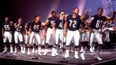 Football players can't dance. Chicago Bears