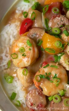 Chicken & Shrimp Gumbo. REVIEW: So fabulous