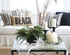 coffee table idea for the summer!