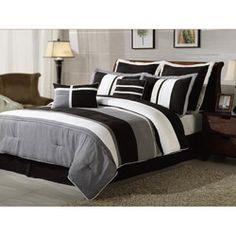 Boulevard 8-piece Comforter Set | Overstock.com Shopping - Great Deals on Comforter Sets