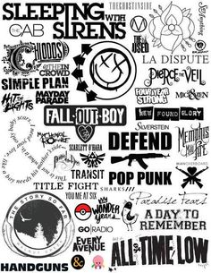 My fav bands