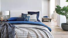 Bedroom Decor  Inspiration TOTAL INDIGO | EDITORIAL AW17 ZARA HOME
