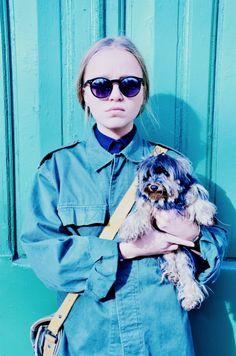 Militar Way! #StreetStyle #JohanssonSisters #IN2ITIONSTYLE #Dog Looks Street Style, Cat Eye Sunglasses, Army, Let It Be, Dog, Fashion, Gi Joe, Diy Dog, Moda
