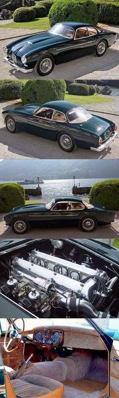 1954 Jaguar XK140 Zagato / 3.4l 190hp L6 / Italy UK / green / 17-362 https://www.amazon.co.uk/Baby-Car-Mirror-Shatterproof-Installation/dp/B06XHG6SSY/ref=sr_1_2?ie=UTF8&qid=1499074433&sr=8-2&keywords=Kingseye
