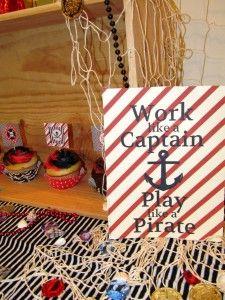 Jacob's Pirate Birthday Party – Ahoy Mattey!