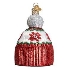 "X Old World Christmas Glass Ornament w// OWC Box 32343 /""Apple Pie/"""