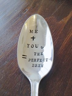 Coffee Spoon for your lover