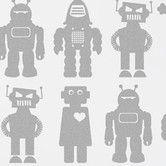 Found it at AllModern - Big Robots Wallpaper