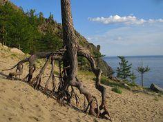 Peshanaya bay, lake Baikal, Siberia, Russia.