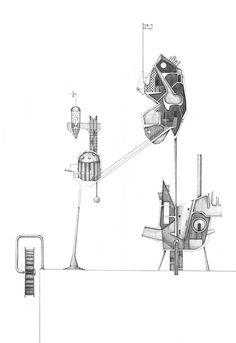 chris t cornelius (oneida); associate professor of architecture,uw-milwaukee; Architecture Drawings, School Architecture, Architecture Design, Building Architecture, Section Drawing, I Love You Drawings, Architecture Presentation Board, Event Poster Design, Architectural Section