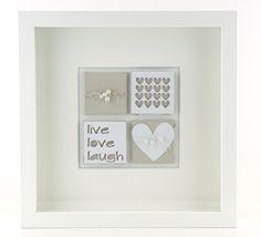 Geschenke für Frauen - Herz Dekoration Bild  - ein Designerstück von schoenes-von-Herzen bei DaWanda