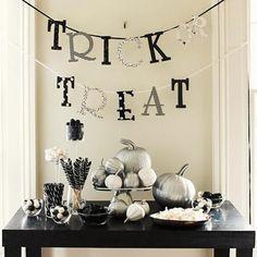 Make homemade Halloween decorations! Learn how:  http://www.bhg.com/halloween/decorating/homemade-halloween-decorations/