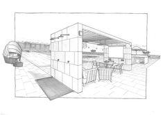 Gazebo, barbecue and swimming pool in Orvieto, Italy Barbecue, Gazebo, Swimming Pools, Floor Plans, Italy, Projects, Swiming Pool, Log Projects, Kiosk