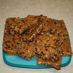 DIY Shelf Stable Energy Bars.  Uses common ingredients.  Requires dehydrating and sealing in vacuum bags for long-term storage.