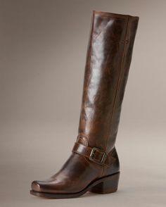 Women's Cavalry Strap 15L Boot - Dark Brown