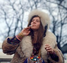 Janis Joplin in Denmark. April 19th, 1969.