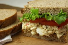 Traditional Southern Chicken Salad {the secrets revealed}  www.thekitchenismyplayground.com  #chickensalad