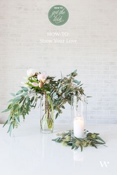How to spread a little love with your wedding. DIY Wedding Wednesday: How To Show Your Love