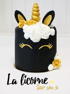 Cake design : Recette du rainbow Cake licorne - See Tutorial and Ideas Pretty Cakes, Cute Cakes, Beautiful Cakes, Amazing Cakes, Mini Cakes, Cupcake Cakes, Oreo Cupcakes, Cake Fondant, Savoury Cake