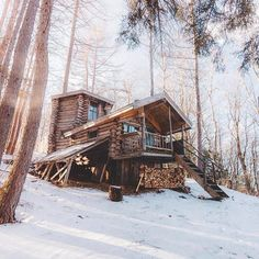 into the wilderness — jebiga-design-magazine:   Cabin vibes   ¥