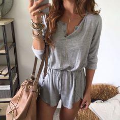 Gray + beige.
