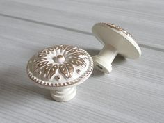 Small Knobs Dresser Knob Creamy White Gold Kitchen Cabinet Knobs / Drawer Knobs Pulls Handles Door Pull Handle Hardware Rustic