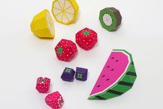 Mr Printables, Play Fruit Templates
