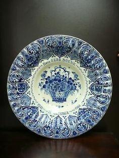 Delfts blauw bordje