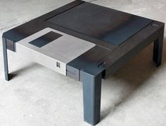 For $930 You Can Own A Table That Looks Like A Giant Floppy Disk