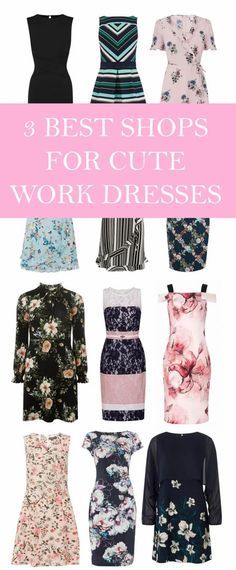 My Fave Shops For Work Dresses (That Are Cute AND AFFORDABLE) – If you're looking for stylish, smart outfits for work, definitely have a read of this list!