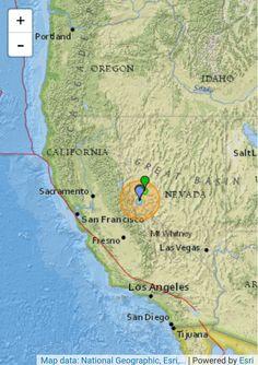 Nevada - Tremores 5,7 e 5,8 foram sentidos em 10 cidades americanas #sismo #tremor #earthquake #terremoto #EUA  http://saulovalley.blogspot.com.br/2016/12/nevada-tremores-57-e-58-foi-sentido-em.html