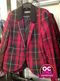 This plaid blazer is right on trend - Oshawa Centre Style Approved by Life Runway - Find it at Suzy Shier Plaid Blazer, Suzy, Real Life, Centre, Lisa, Runway, Jackets, Style, Fashion