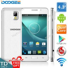 """(DOOGEE) Moon DG130 4.3"""" IPS Screen MTK6572 2-Core Android 4.2.2  3G WiFi Play Store Phone 512MB RAM 4GB ROMhttp://www.tinydeal.com/doogee-px23t51-p-118406.html"""