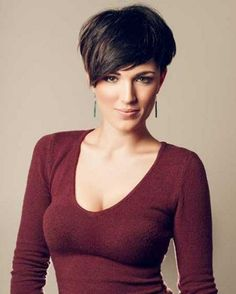 Short Thick Cute Pixie Haircut