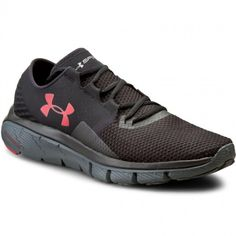Boty UNDER ARMOUR - Ua Speedform Fortis 2 Txtr 1284470-001 Blk/Sty/Red Under Armour Tenis, Sneakers, Model, Red, Shoes, Google, Zapatos, Tennis Sneakers, Rouge