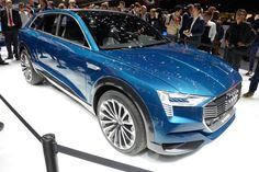 Audi is sending an electric SUV to the Frankfurt Motor Show The released images show us a very interesting electric SUV set to show its concept at the Frankfurt Motor Show in September. Audi also confirmed that it will go into production in 2018. The concept, called the C-BEV is a preview of the Q6 production model. It's all electric but we won't see it ...