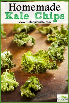 Homemade Kale Chips with Sea Salt - These are seriously SO amazing and ...