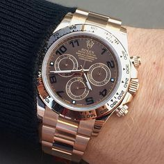 Some chocolate ??? DAYTONA Ref 116505 Have a great evening all .... | http://ift.tt/2cBdL3X shares Rolex Watches collection #Get #men #rolex #watches #fashion