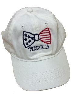 Ladies 'Merica Bow' Baseball Hat – United Tees