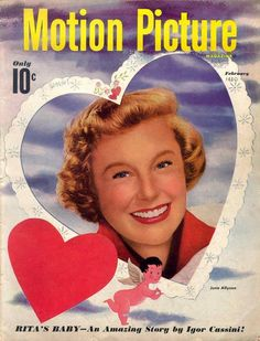 Motion Picture Magazine - February 1950 (June Allyson)