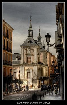 Calle Mayor y Plaza de la Villa de Madrid | Flickr: Intercambio de fotos