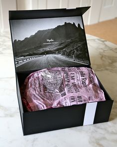Rapha Grand Tour Shoe on the road again #packaging by Irving & Co and Progress Packaging PD