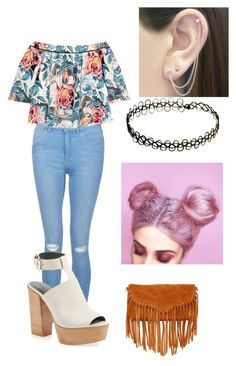 """Untitled #160"" by cannonsamiya on Polyvore featuring New Look, Elizabeth and James, Rebecca Minkoff, SUSU and Otis Jaxon"