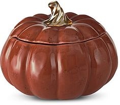 JCPenney Home September Ridge Harvest Set of 4 Pumpkin Bowls