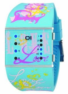 01TheOne Women's SLSL136B3 Slim Square Classic LED Watch - Rellek Jewelry