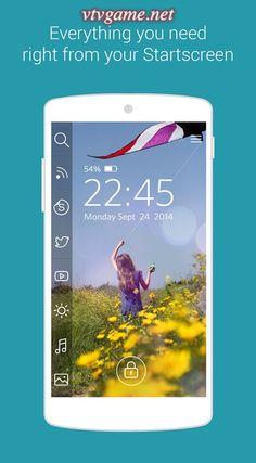 http://vtvgame.net/ung-dung-khoa-man-hinh-start.html Start cho Android là ứng dụng tùy biến màn hình khóa di động tiện lợi nhanh chóng và miễn phí. Công cụ này cho phép người dùng truy cập nhanh tất cả vấn đề mình quan tâm ngay từ màn hình khóa của di động.
